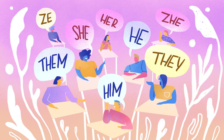 Gender neutral pronouns